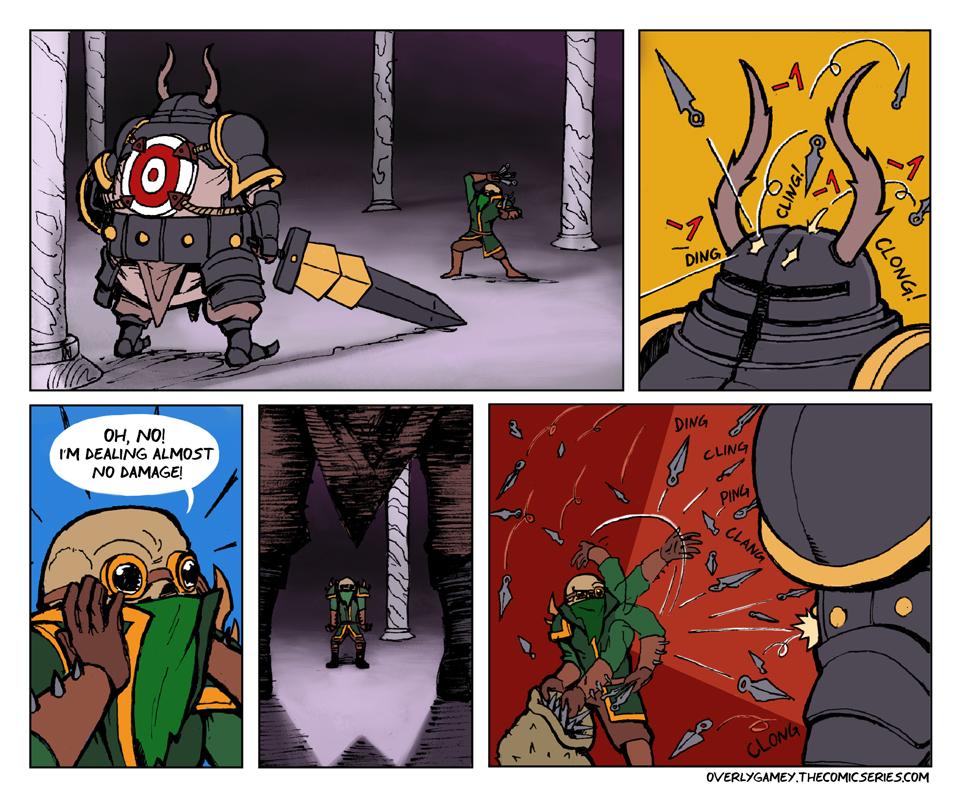 Achilles' Giant Bullseye