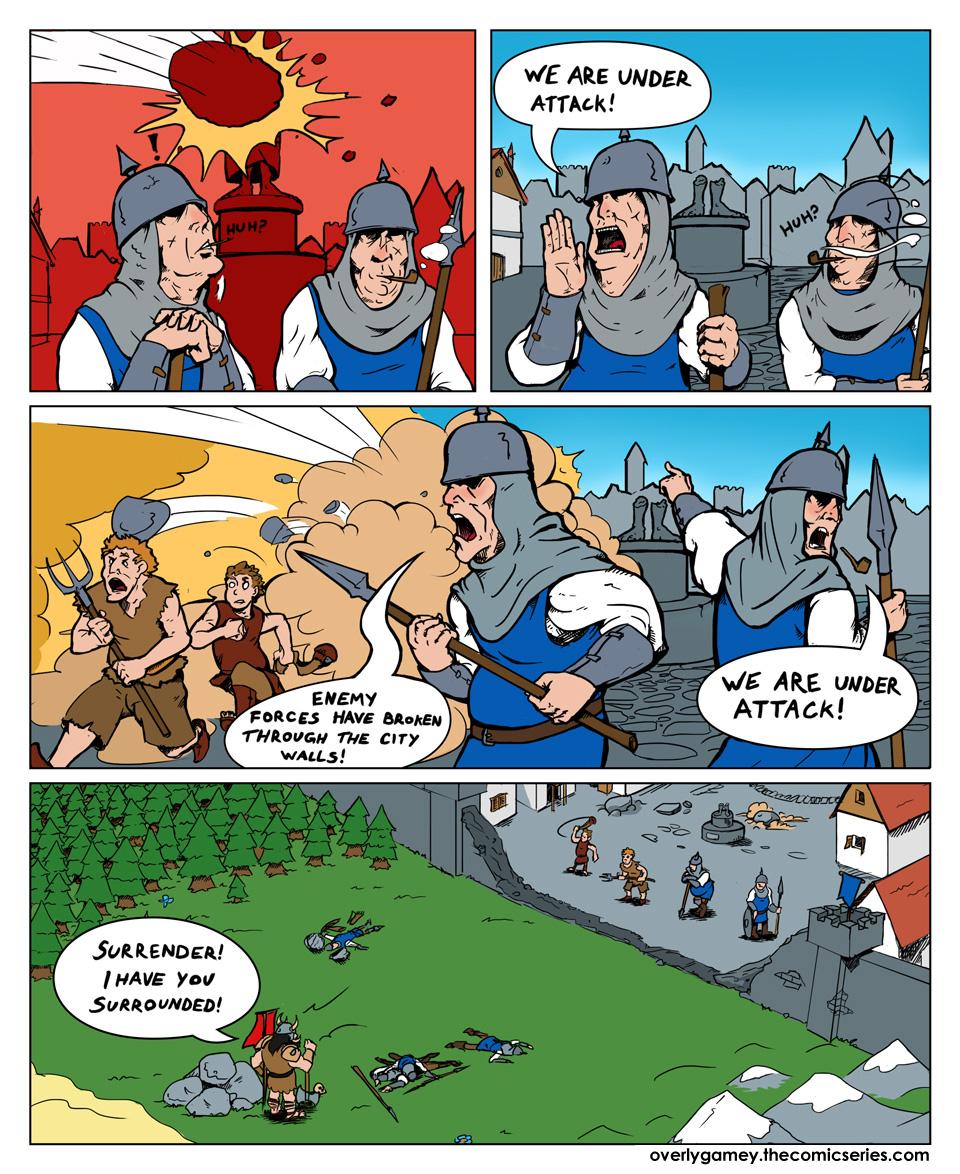 An Enemy Hero is Besieging Your Castle
